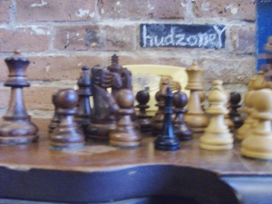 Displaced chessmen